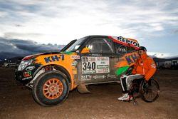 #340 KH-7 Rally Team, Mitsubishi: Isidre Esteve