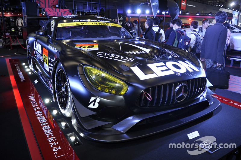 #65 LEON CVSTOS AMG-GT(2017年暫定カラー)