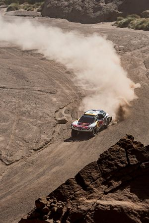 №300 Peugeot Sport Peugeot 3008 DKR: Стефан Петерансель и Жан-Поль Котре