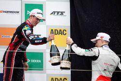 Podium: Joel Eriksson, Motopark, Dallara F317 - Volkswagen and Jake Hughes, Hitech Grand Prix, Dalla