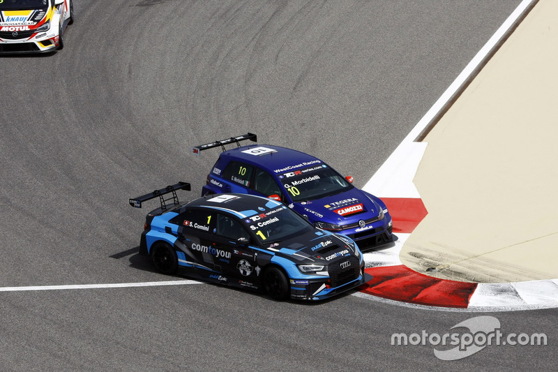 Stefano Comini, Comtoyou Racing, Audi RS3 LMS, Gianni Morbidelli, West Coast Racing, Volkswagen Golf