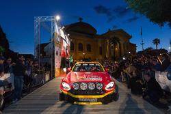 Salvatore Riolo, Gianfranco Rappa, Abarth 124 Rally, CST Sport