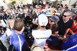 Lewis Hamilton, Mercedes AMG.