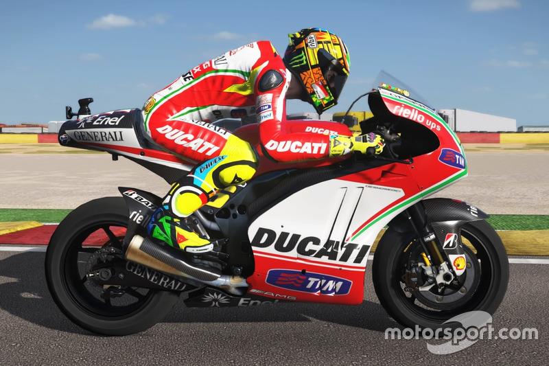 Valentino Rossi, Ducati Desmosedici 2012