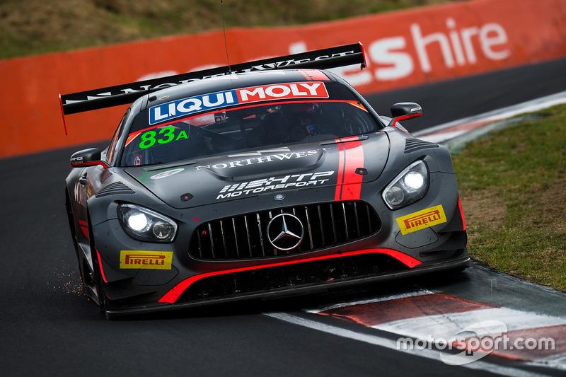 Defekt: #83 HTP Motorsport, Mercedes AMG GT3