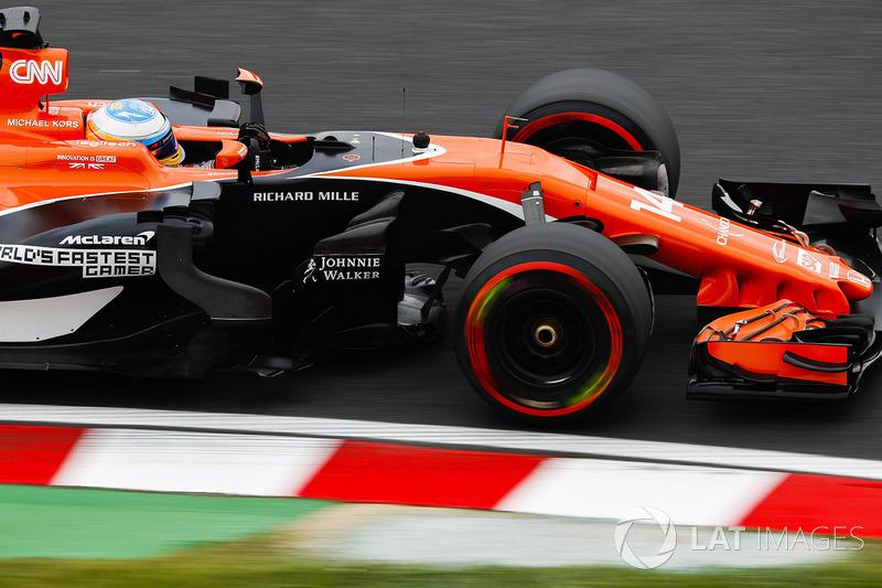 20: Fernando Alonso, McLaren MCL32 (inc. gridstraf van 35 plaatsen)