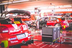 L'assistance Citroën World Rally Team