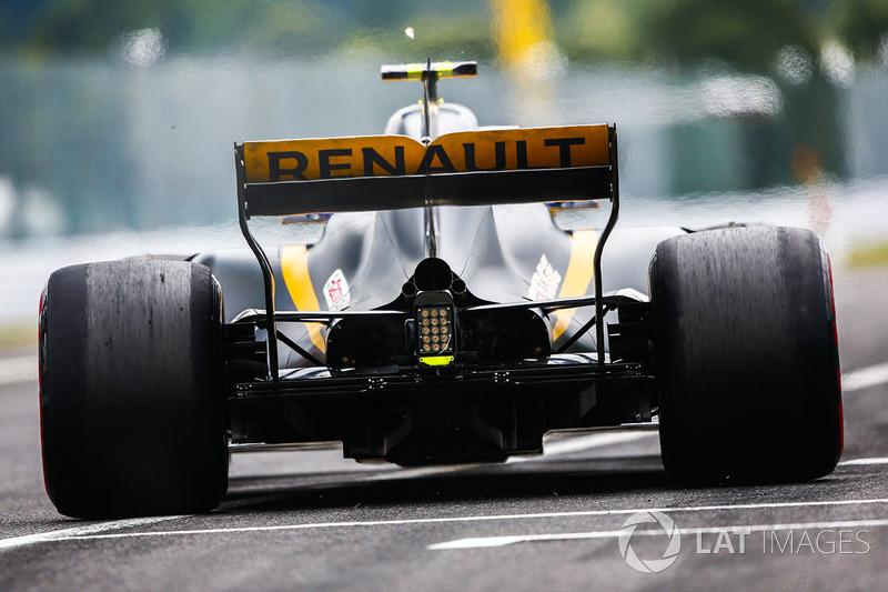 Renault RS17: Heck