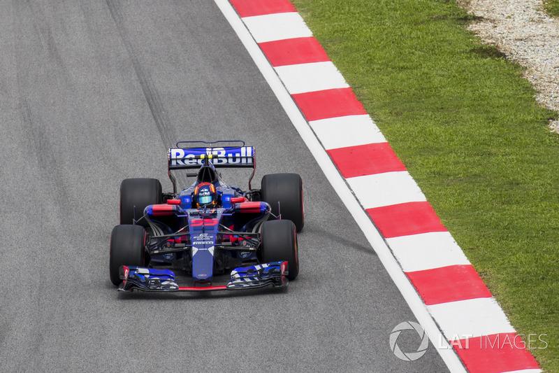 DNF : Carlos Sainz (Toro Rosso)