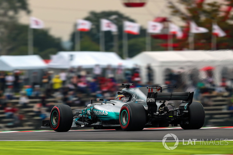 2. Lewis Hamilton, Mercedes-Benz F1 W08