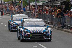 Ken Block, Andreas Bakkerud, Hoonigan Racing Division Ford