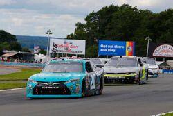 Erik Jones, Joe Gibbs Racing Toyota and William Byron, JR Motorsports Chevrolet