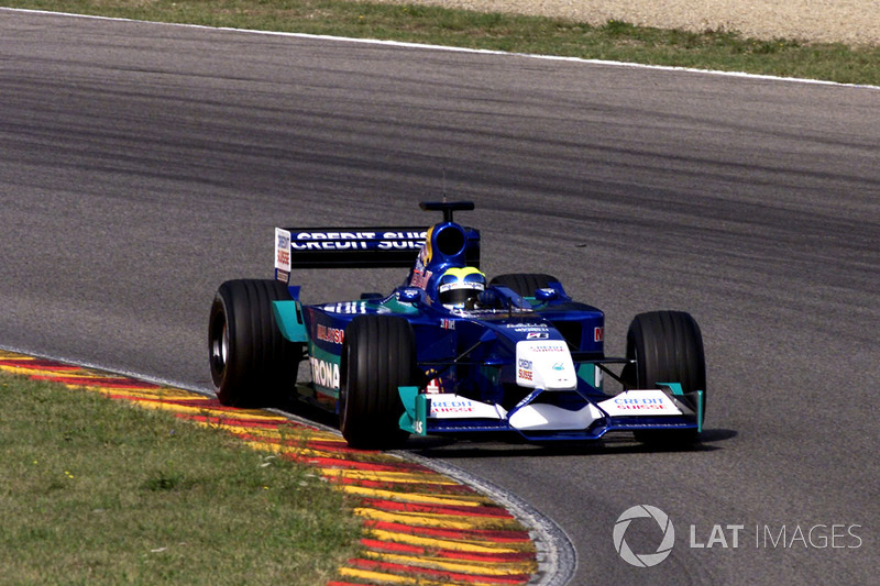 September 2001: Felipe Massa