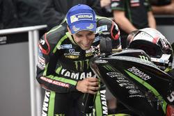 Johann Zarco, Monster Yamaha Tech 3 con una moto giocattolo