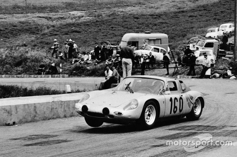 #160 Porsche 718 GTR: Jo Bonnier, Carlo-Maria Abate