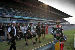 Il terzo classificato Tom Sykes, Kawasaki Racing