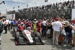 Ganador, Sébastien Bourdais, Dale Coyne Racing Honda