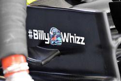 #BillyWhizz signage