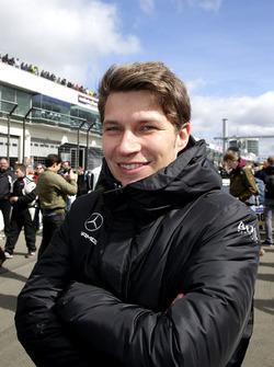 #47 Mercedes-AMG Team HTP Motorsport, Mercedes-AMG GT3: Sebastian Asch
