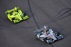 Will Power, Team Penske, Chevrolet; Simon Pagenaud, Team Penske, Chevrolet