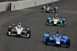 Simon Pagenaud, Team Penske Chevrolet, Tony Kanaan, Chip Ganassi Racing Honda