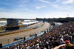 Daniel Abt, ABT Schaeffler Audi Sport, leads Nicolas Prost, Renault e.Dams
