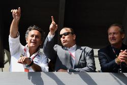 Alejandro Agag, Formula E CEO with Prince Albert of Monaco