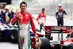 Charles Leclerc, PREMA Powerteam, auteur de la pole position