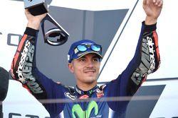 Podium: second place Maverick Viñales, Yamaha Factory Racing