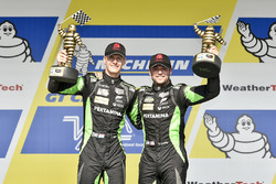 Podio GTD: al primo posto Corey Lewis, Jeroen Mul, Change Racing