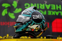 Il casco di James Davison, Joe Gibbs Racing Toyota