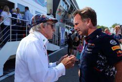 Jackie Stewart, Christian Horner, director de Red Bull Racing Team