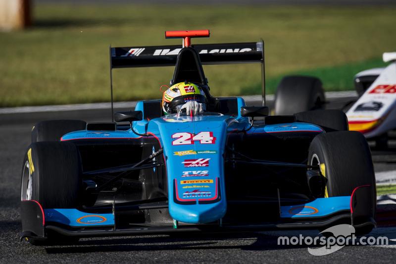 Arjun Maini (GP3 Monza)