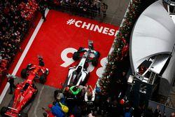 Podium: Sebastian Vettel, Ferrari