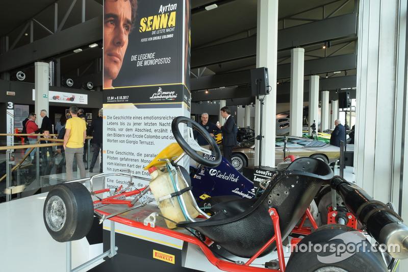 Kart von Ayrton Senna