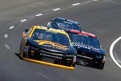 Brendan Gaughan, Richard Childress Racing Chevrolet and Jeremy Clements, Jeremy Clements Racing Chev