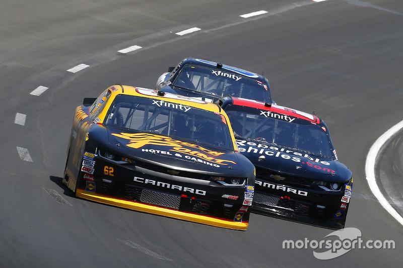 Brendan Gaughan, Richard Childress Racing, Chevrolet; Jeremy Clements, Jeremy Clements Racing, Chevr
