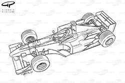 Vue d'ensemble de la Ferrari F300 (649)