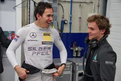 Robert Wickens and Lucas Auer,Mercedes-AMG C63 DTM