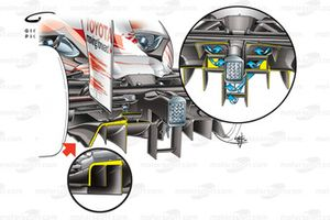 Toyota TF109 2009 double diffuser airflow detail
