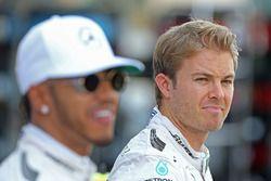 Nico Rosberg, Mercedes AMG F1 und Nico Rosberg, Mercedes AMG F1