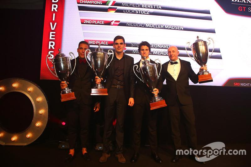2016 Copa Sprint Silver Cup pilotos, Nicolaj Moller Madsen, Luca Stolz, Michele Beretta
