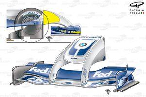 Моржовый нос Williams FW26