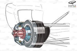 Передние тормоза Ferrari F2003-GA