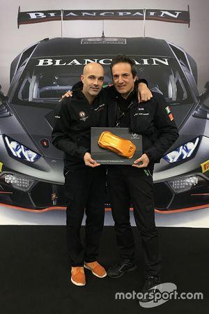 Armando Donazzan, presidente di Orange1 Racing, e Tancredi Pagiaro, titolare e team principal di Laz