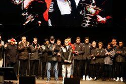 Motorsport meets Sindelfingen: Mercedes feiert