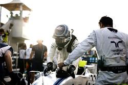 Valtteri Bottas, Williams, sur la grille