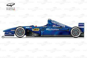 Prost AP02 1999 side view