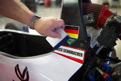 Mick Schumacher sticker
