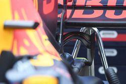 Red Bull Racing RB13, detalle de alerón trasero